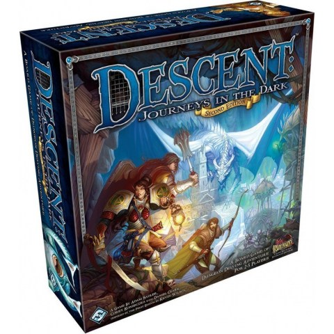 Descent: Journeys in the Dark (Second Edition) ‐ English second edition (2016) - настолна игра