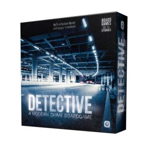 Detective: A Modern Crime Board Game (2018) - кооперативна настолна игра