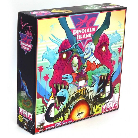 Dinosaur Island (2017) - настолна игра