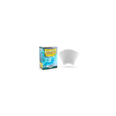 Dragon Shield Standard Sleeves - Matte Clear - матови протектори за карти (прозрачни) 100 бр. в LCG, 63.5x88 мм)