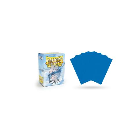 Dragon Shield Standard Sleeves - Matte Sky Blue - матови протектори за карти (небесносини) 100 бр. в LCG, 63.5x88 мм)