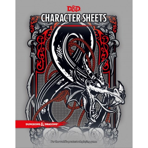 Dungeons & Dragons RPG 5th Edition: Character Sheets