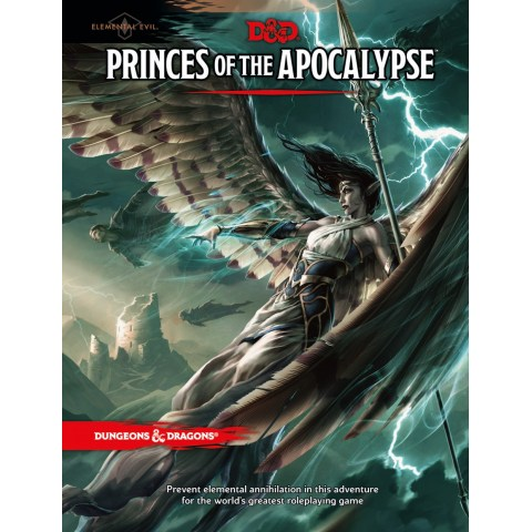 Dungeons & Dragons RPG 5th Edition: Elemental Evil - Princes of the Apocalypse in D&D Adventures