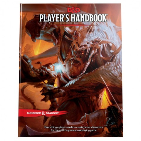 Dungeons & Dragons RPG 5th Edition: Player's Handbook (2019)
