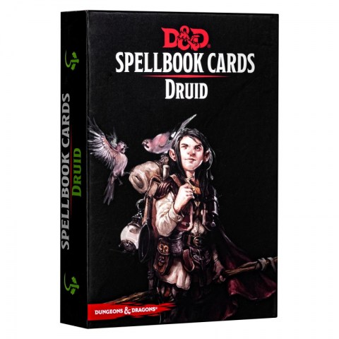 Dungeons & Dragons RPG 5th Edition: Spellbook Cards (2017) - Druid Spell Deck (131 Cards)