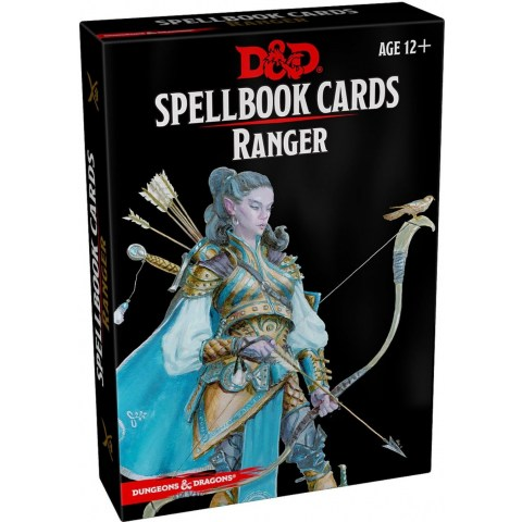 Dungeons & Dragons RPG 5th Edition: Spellbook Cards (2017) - Ranger Spell Deck (46 Cards)