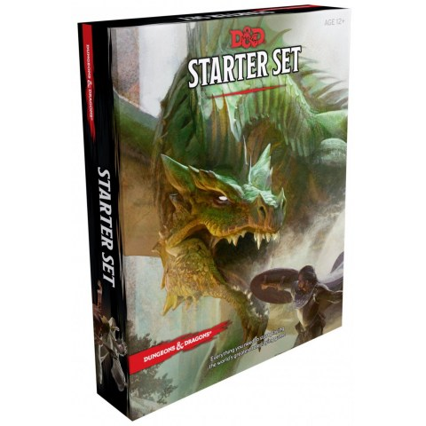 Dungeons & Dragons RPG 5th Edition: D&D Starter Set в D&D и други RPG / D&D 5th Edition / D&D стартови к-ти