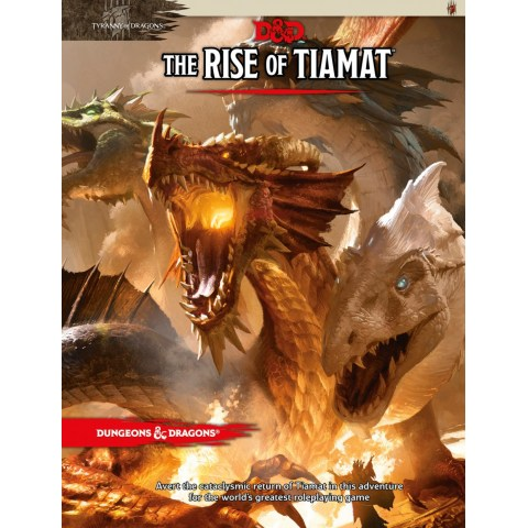 Dungeons & Dragons RPG 5th Edition: Tyranny of Dragons - The Rise of Tiamat (D&D Adventure)