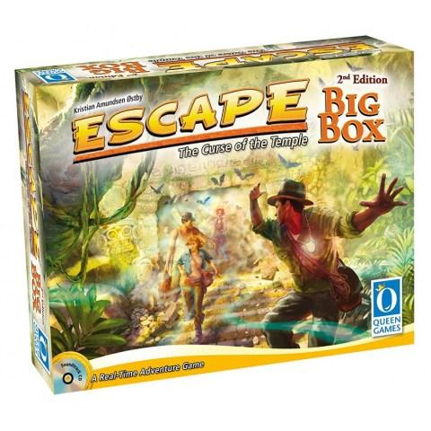 Escape: The Curse of the Temple – Big Box Second Edition (2017) - настолна игра