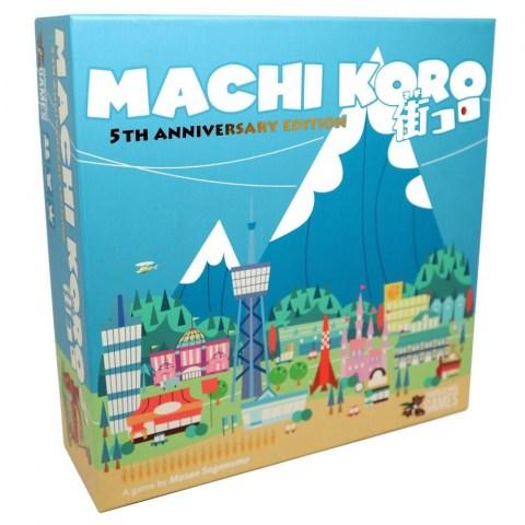 Machi Koro 5th Anniversary Edition - настолна игра