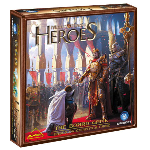 Might & Magic Heroes: The Board Game - настолна игра