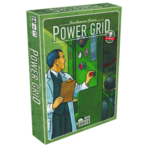 Power Grid Recharged Edition (2019) - икономическа настолна игра