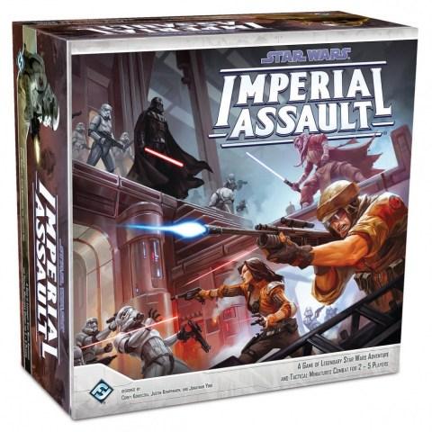 Star Wars: Imperial Assault (2014) - приключенска настолна игра