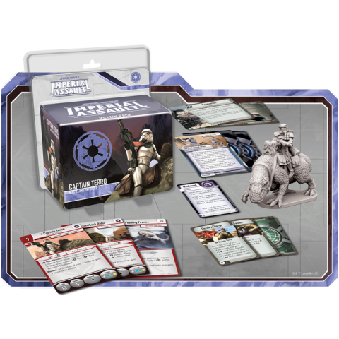 Star Wars: Imperial Assault: Captain Terro Villain Pack Board Game