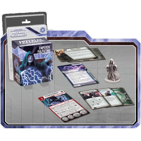 Star Wars: Imperial Assault: Emperor Palpatine Villain Pack