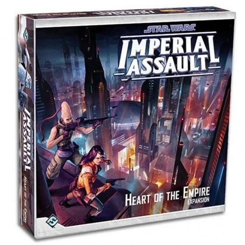 Star Wars: Imperial Assault - Heart of the Empire Expansion - разширение за настолна игра