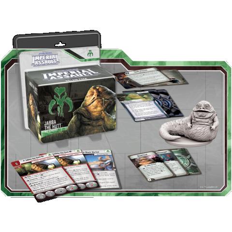 Star Wars: Imperial Assault: Jabba the Hutt Villain Pack