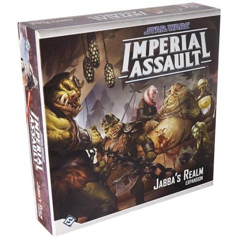 Star Wars: Imperial Assault - Jabba's Realm Expansion - разширение за настолна игра Star Wars: Imperial Assault