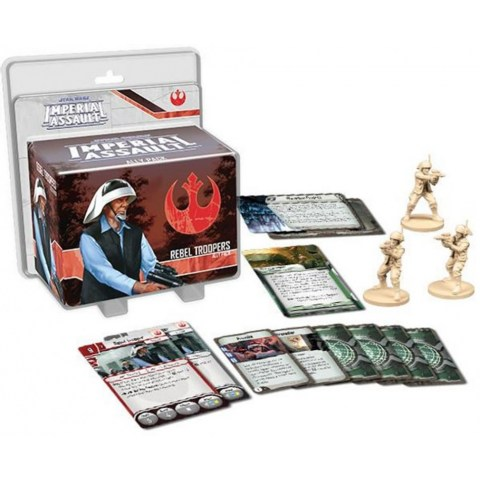 Star Wars: Imperial Assault - Rebel Troopers Ally Pack