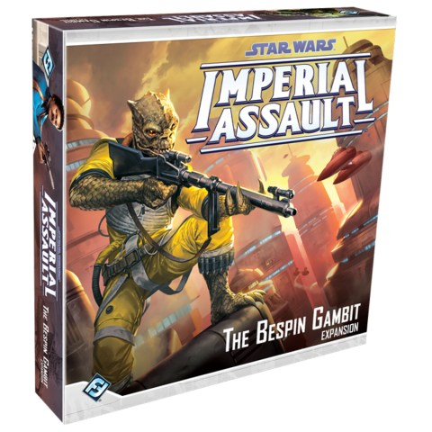 Star Wars: Imperial Assault - The Bespin Gambit Expansion - разширение за настолна игра Star Wars: Imperial Assault