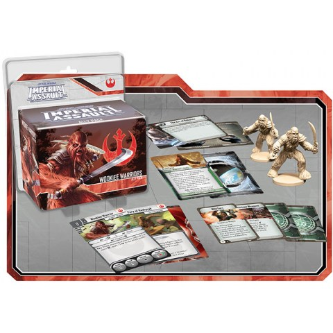 Star Wars: Imperial Assault - Wookiee Warriors Ally Pack Board Game