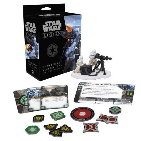 Star Wars: Legion – E-Web Heavy Blaster Team Unit Expansion (2018)