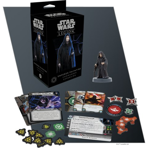 Star Wars: Legion – Emperor Palpatine Commander Expansion (2018)