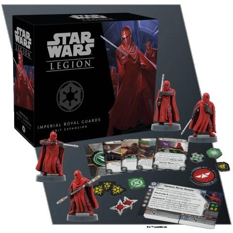 Star Wars: Legion – Imperial Royal Guards Unit Expansion (2018)