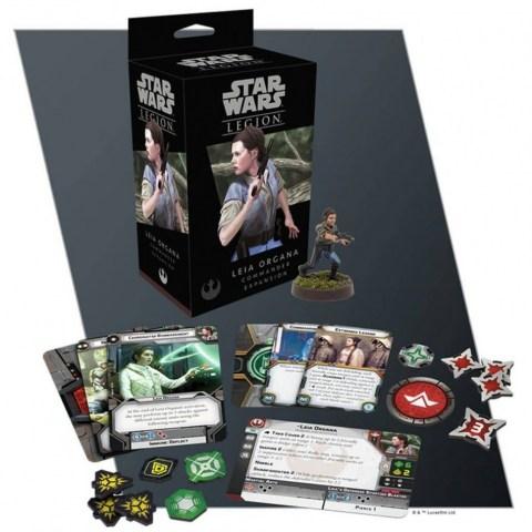 Star Wars: Legion – Leia Organa Commander Expansion (2018)
