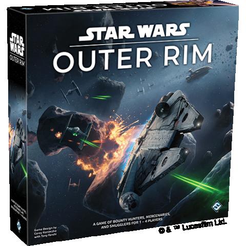 Star Wars: Outer Rim Board Game (2019) - настолна игра
