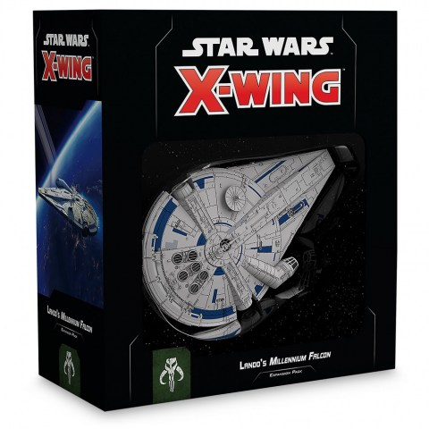 Star Wars: X-Wing (Second Edition) – Lando's Millennium Falcon Expansion Pack (2018) в Star Wars: X-Wing