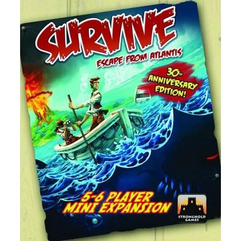 Survive: Escape from Atlantis! 5-6 Player Mini Expansion (2011) - разширение за настолна игра