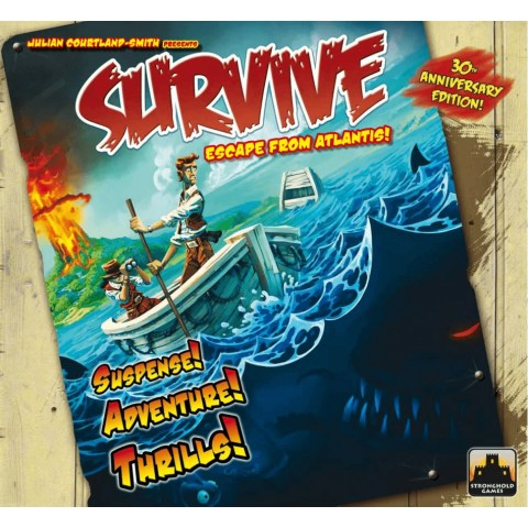 Survive: Escape from Atlantis! - настолна игра