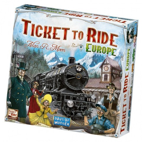 Ticket to Ride: Europe (2005) Board Game