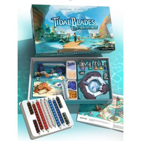 Tidal Blades: Heroes of the Reef + Angler's Cove (Kickstarter Deluxe Edition, 2019) - настолна игра