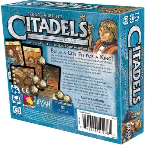 Citadels Classic (2000) - настолна игра с карти Цитадели