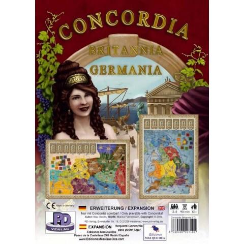 Concordia: Britannia / Germania Expansion