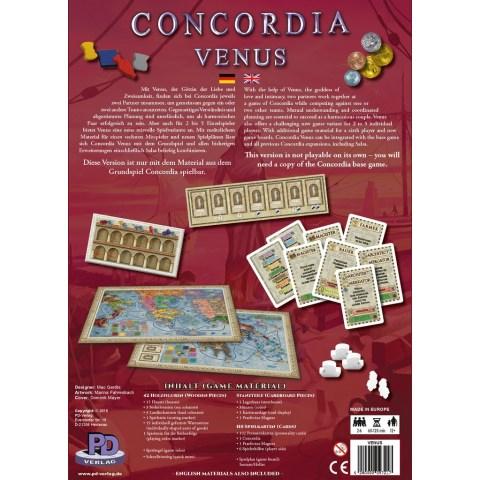 Concordia: Venus Expansion (2018) - разширение за настолна игра