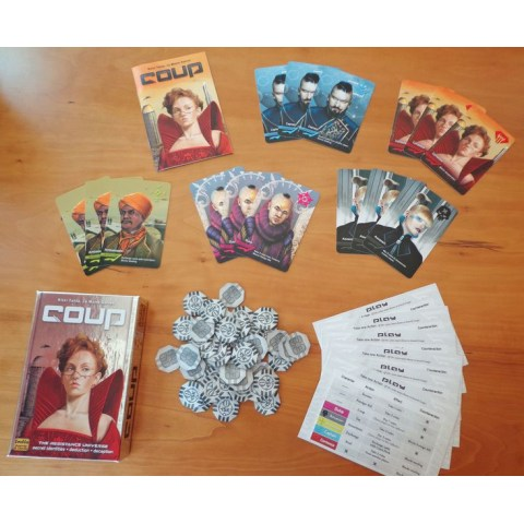 Coup (2012) Board Game