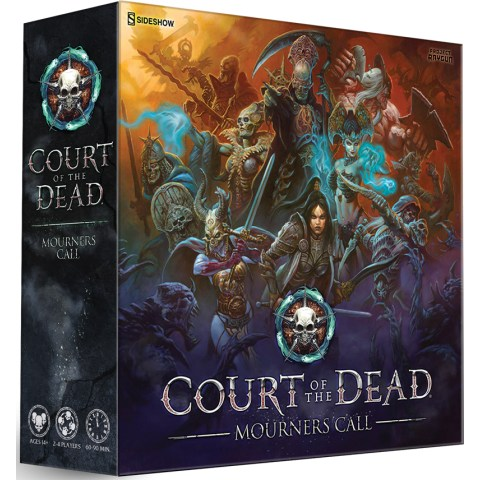 Court of the Dead: Mourners Call (Retail Edition, 2019) - настолна игра