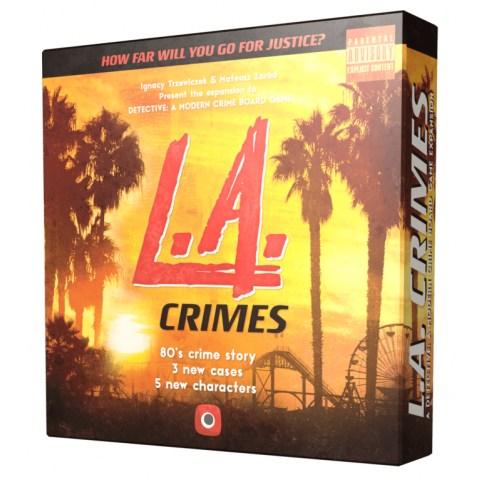 Detective: A Modern Crime Board Game – L.A. Crimes Expansion (2019) - разширение за настолна игра