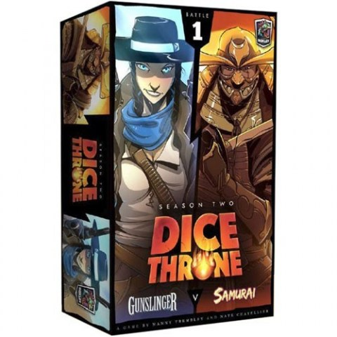 Dice Throne: Season Two - Gunslinger v. Samurai (2018) - настолна игра