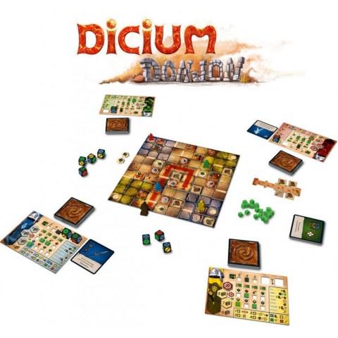 Dicium (2018) - 4-в-1 настолна игра