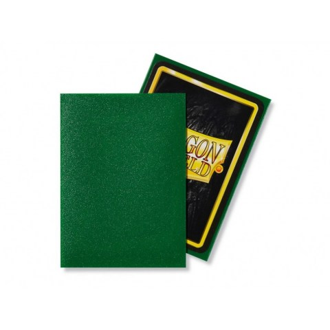 Dragon Shield Standard Sleeves - Emerald - матови протектори за карти (изумруд) 100 бр. в LCG, 63.5x88 мм)