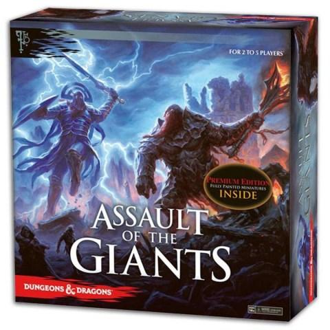 Dungeons & Dragons - D&D: Assault of the Giants (Premium Edition, 2017) - настолна игра