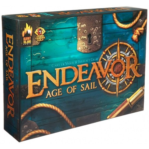 Endeavor: Age of Sail Second Edition (2018) Board Game