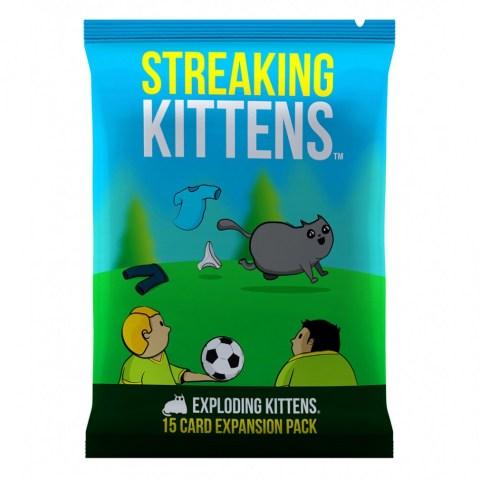 Exploding Kittens: Streaking Kittens Expansion - разширение за английско издание на Експлодиращи Котета