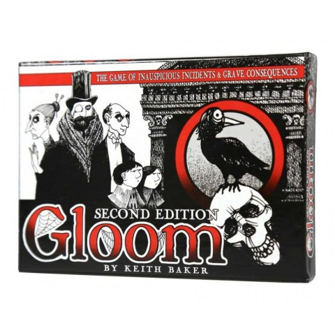 Gloom ‐ English second edition (2014)  - игра с карти