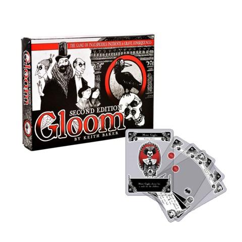 Gloom ‐ English second edition (2014)  - игра с карти