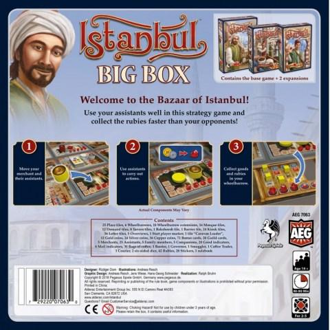 Istanbul: Big Box (2018) - настолна игра
